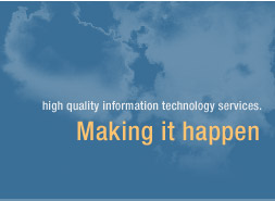 high quality information technology services making it happen